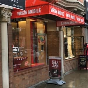 Virgin Mobile - 1087 Robson St, Vancouver, BC