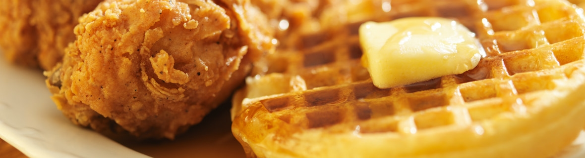Best fried chicken and waffle dishes in Montreal