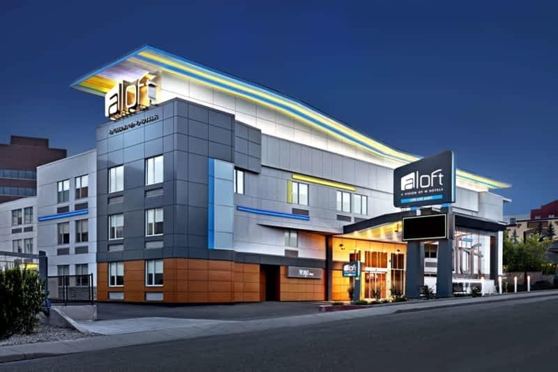 photo Aloft Calgary University