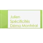 Voir le profil de Julien Spécificités Démo - Saint-Canut