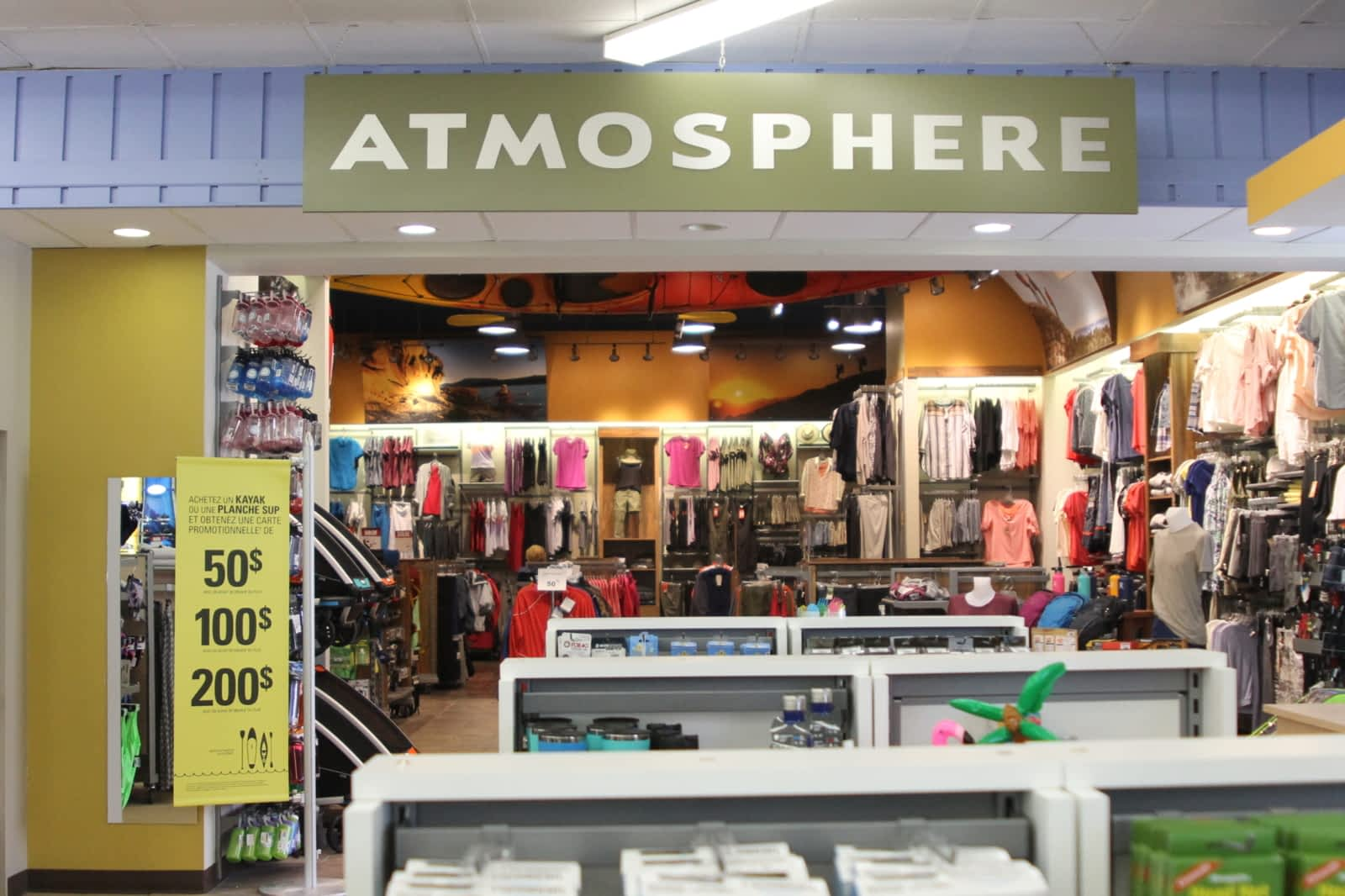 Sports Experts ,Atmosphere , Horaire d\u0027ouverture , 69, rue Gamble O,  Rouyn,Noranda, QC