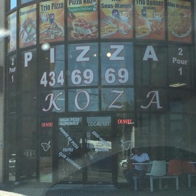 Koza Pizza - Pizza & Pizzerias - 450-434-6969