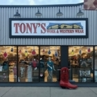 Tony's Work and Western Wear - Shoe Repair