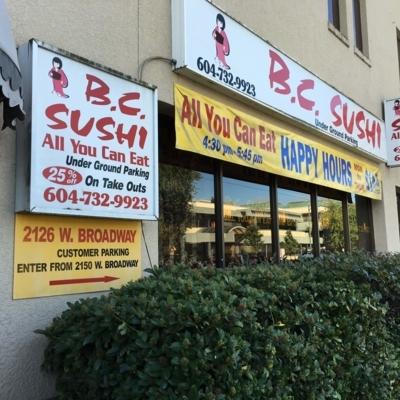 BC Sushi - Sushi & Japanese Restaurants - 604-732-9923
