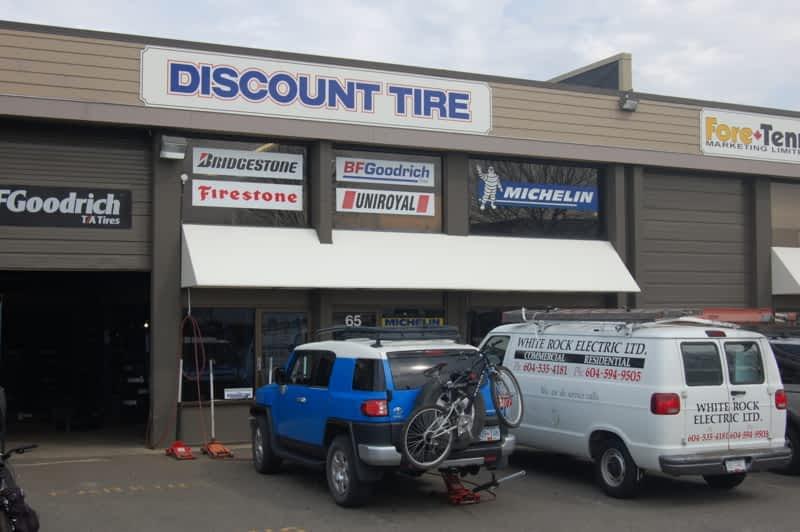 Discount Tire - Surrey, BC - 65-15515 24 Avenue | Canpages