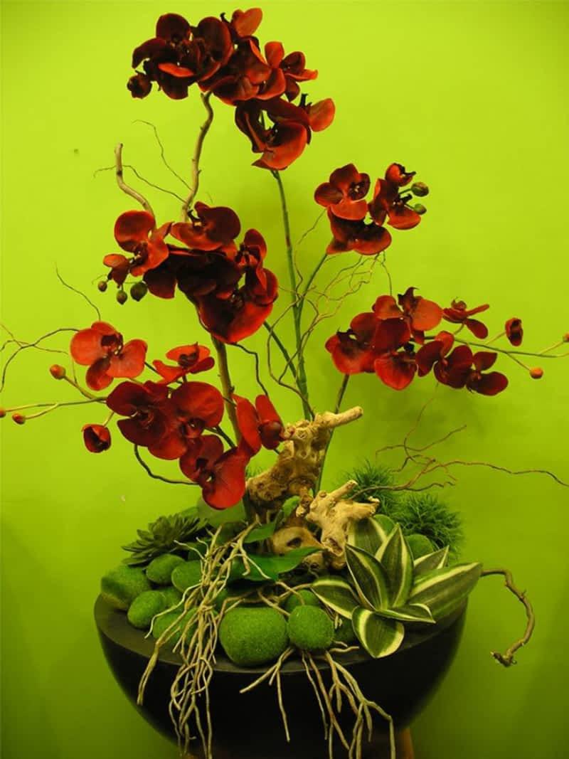 Fleuriste la vie en fleurs laval qc 1895 boul ren for Fleuriste fleurs