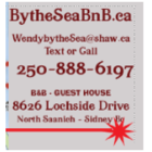 By the Sea BnB - Bed & Breakfasts