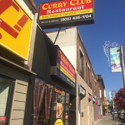Curry Club Restaurant - Indian Restaurants - 905-436-1704