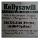 View Garage Kellysawill's Lachenaie profile