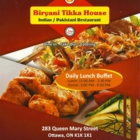 Biryani Tikka House - Restaurants indiens - 613-422-4886