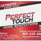 Perfect Touch Home Renovations - Entrepreneurs en revêtement - 905-928-2669