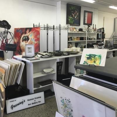 Greening's Custom Framing & Art Gallery Inc - Conseillers, marchands et galeries d'art