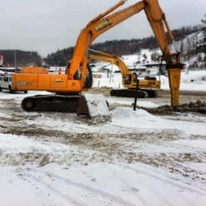 Construction Du Carrefour Horaire D Ouverture 360 Rte