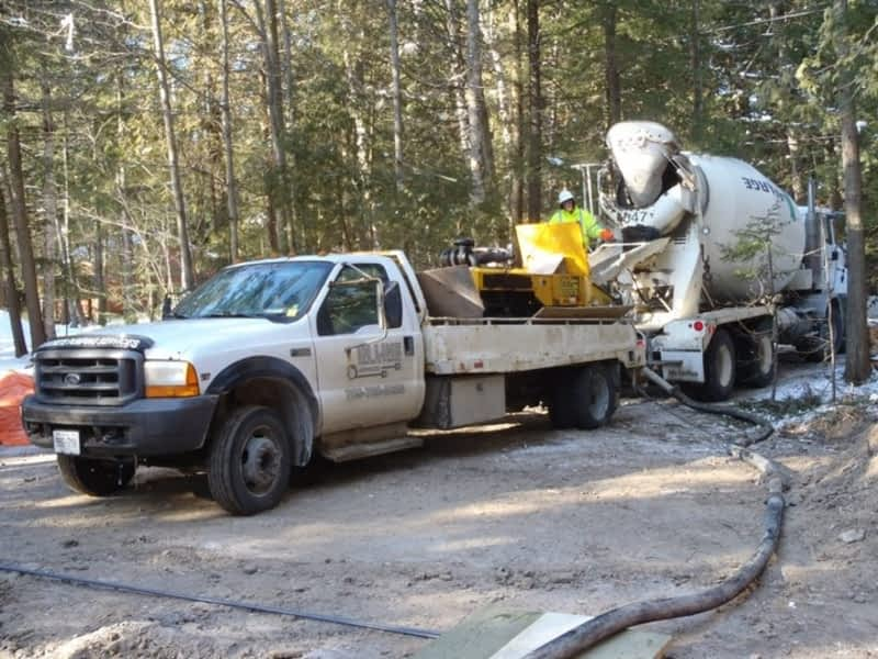 photo In-Line Concrete Pumping Services