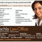 Nachla Law Office - Family Lawyers - 905-290-1965