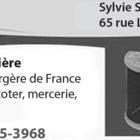 Couturière & Mercerie Sylvie Sornay - Écoles et cours de couture