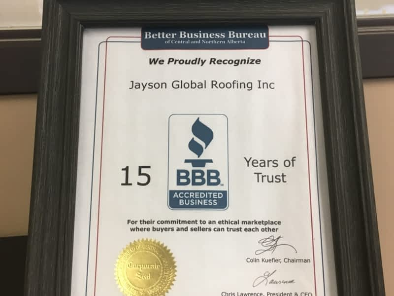 photo Jayson Global Roofing Inc