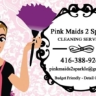 Pink Maid's 2 Sparkle - Commercial, Industrial & Residential Cleaning - 416-388-9242