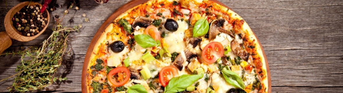 Dig in to a gourmet pizza pie in Yorkville