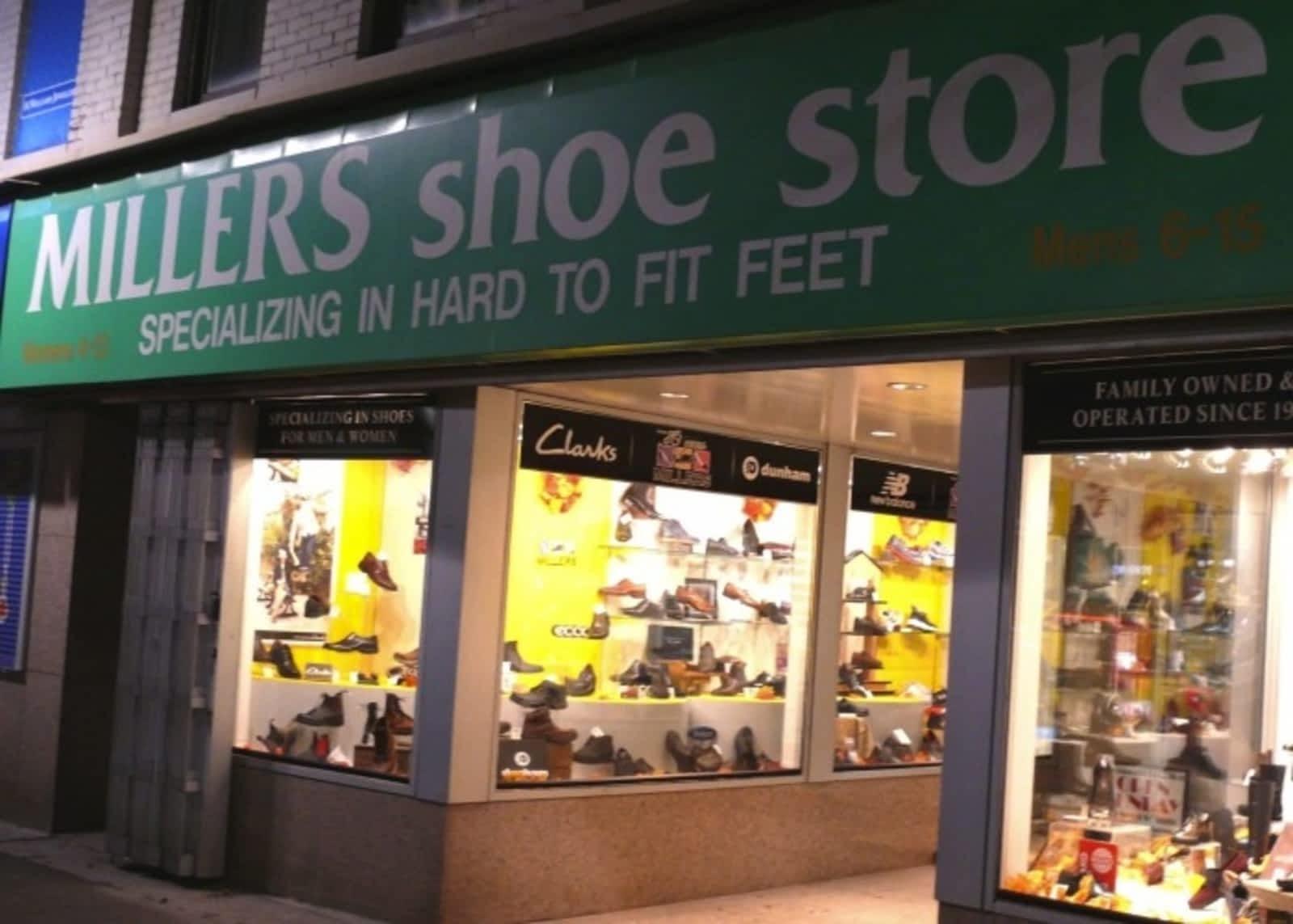 Shoe Store - 130 James St N, Hamilton