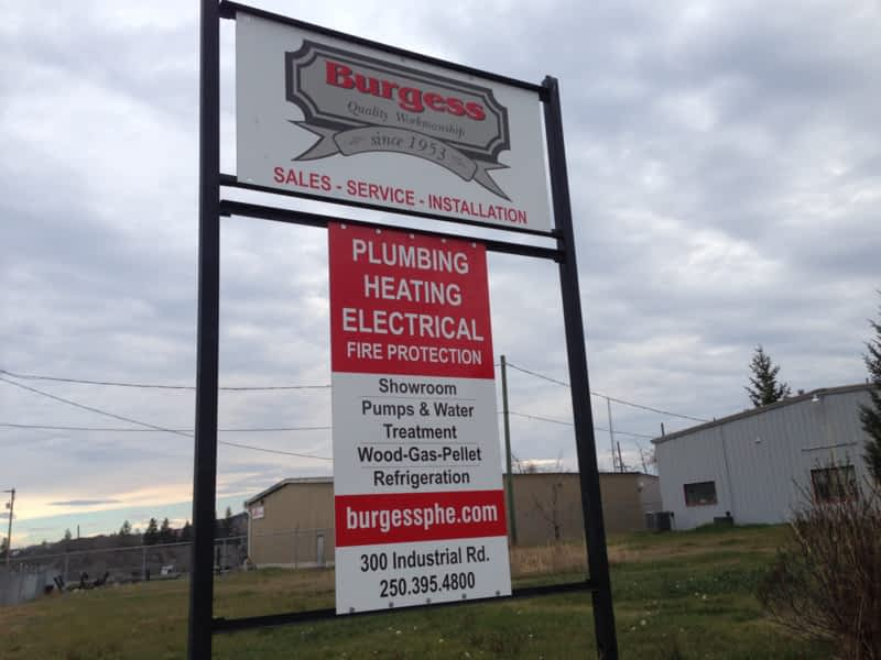 Burgess Plumbing Heating Amp Electrical Co Ltd 100 Mile