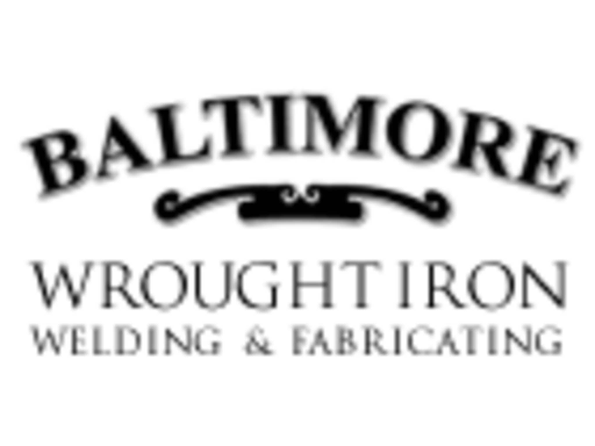 photo Baltimore Wrought Iron Welding & Fabricating