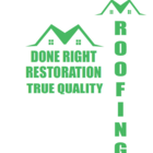 Done Right Roofing and Restoration - Logo