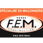 F E M Construction - Maçons et entrepreneurs en briquetage