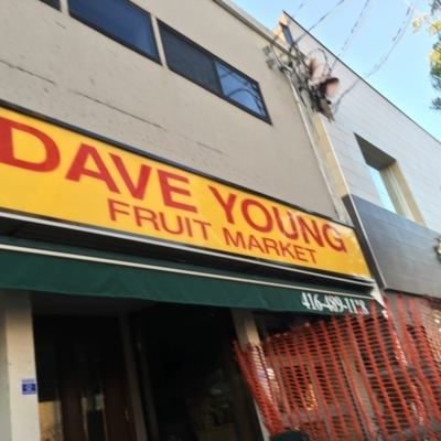 Young Dave - Fruit & Vegetable Stores - 416-489-1118