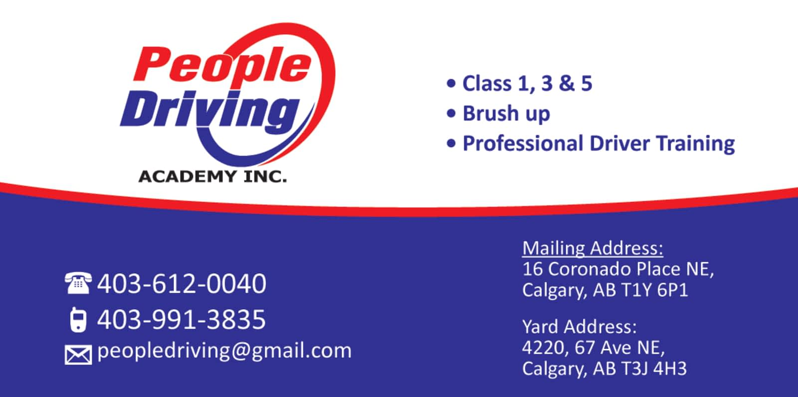 driver training yellow pages calgary alberta