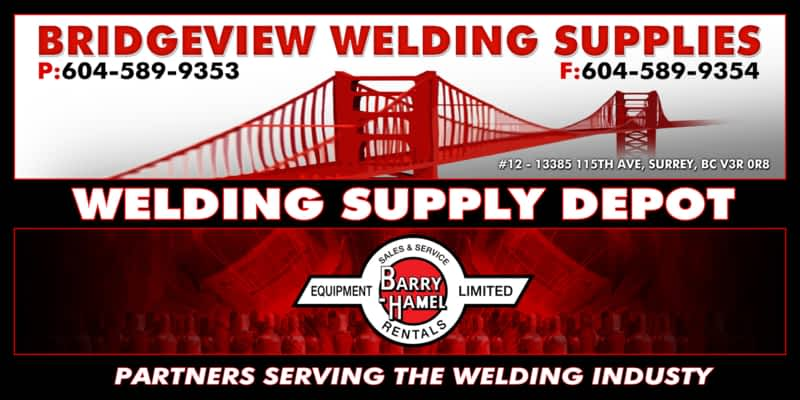 Bridgeview Welding Supplies Ltd Surrey Bc 12 13385