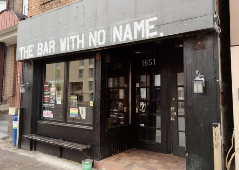photo The Bar With No Name