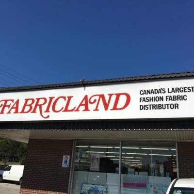 View Fabricland's Waterdown profile