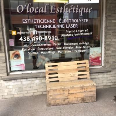 O'local Esthétique - Esthéticiennes et esthéticiens - 438-490-8910