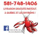 Fruits de mer des iles de la madeleine - Poissonneries - 581-748-1406