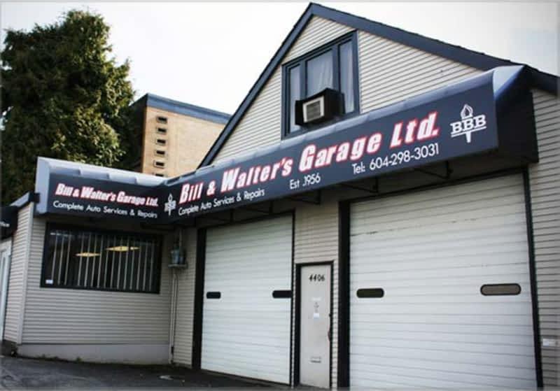 Bill Amp Walter S Garage Ltd Burnaby Bc 4406 Dawson St