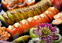 Sample the best sushi delivery in downtown Toronto