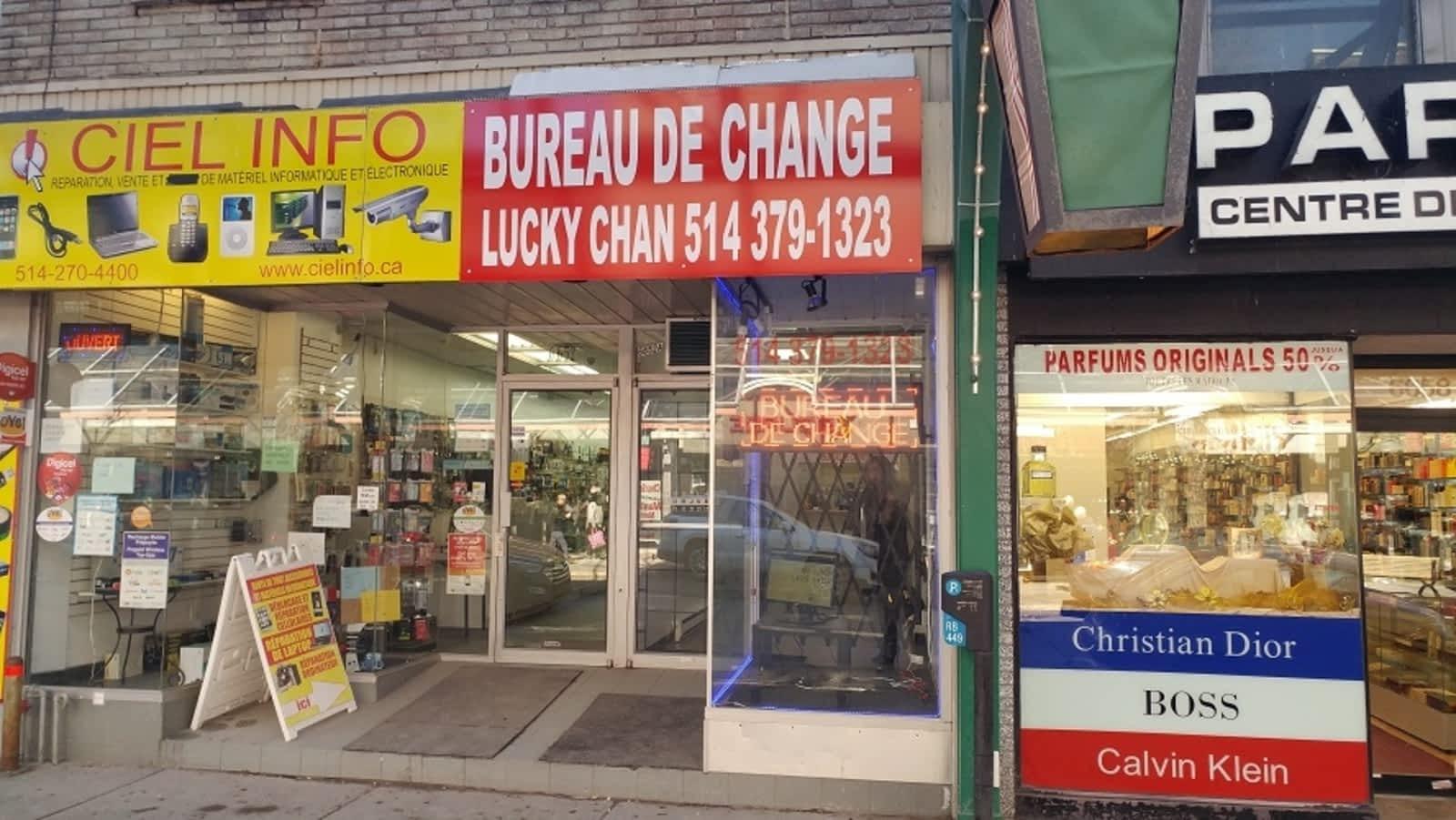 Bureau exchange montreal: calforex montreal eaton centre. nex