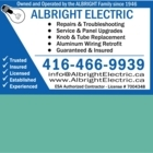 View Albright Electric Co Limited's Toronto profile
