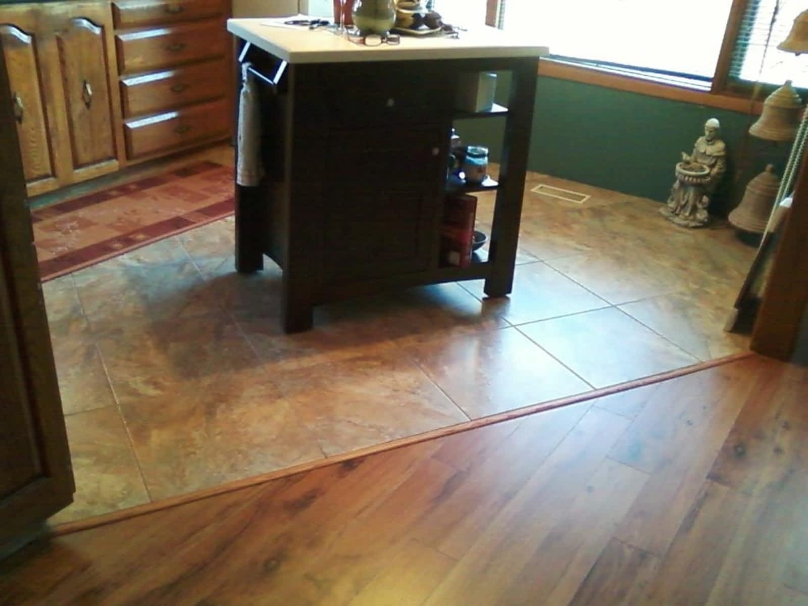 floors vinyl with lake gloss flooring high rocksolid floor watch garage ozark mo chips beach laurie youtube osage epoxy