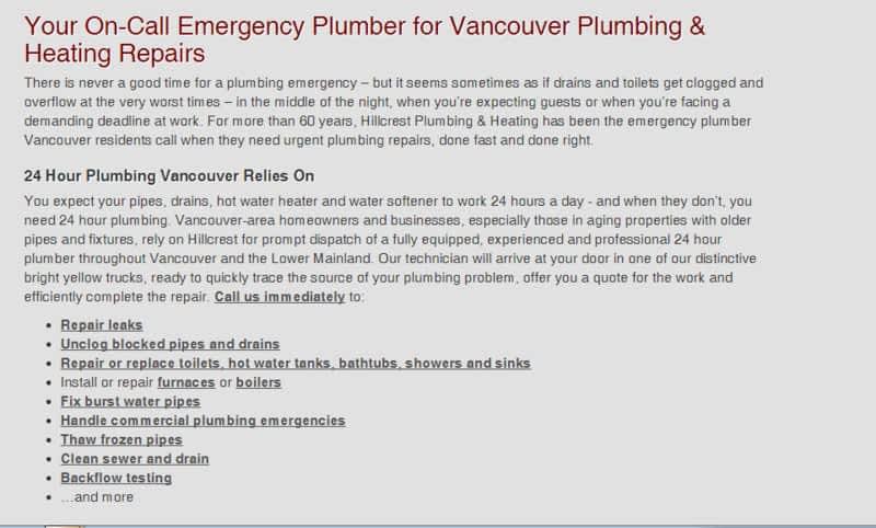 photo Hillcrest Plumbing & Heating