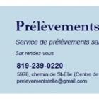View Prélèvements St-Élie's Saint-Ignace-de-Loyola profile