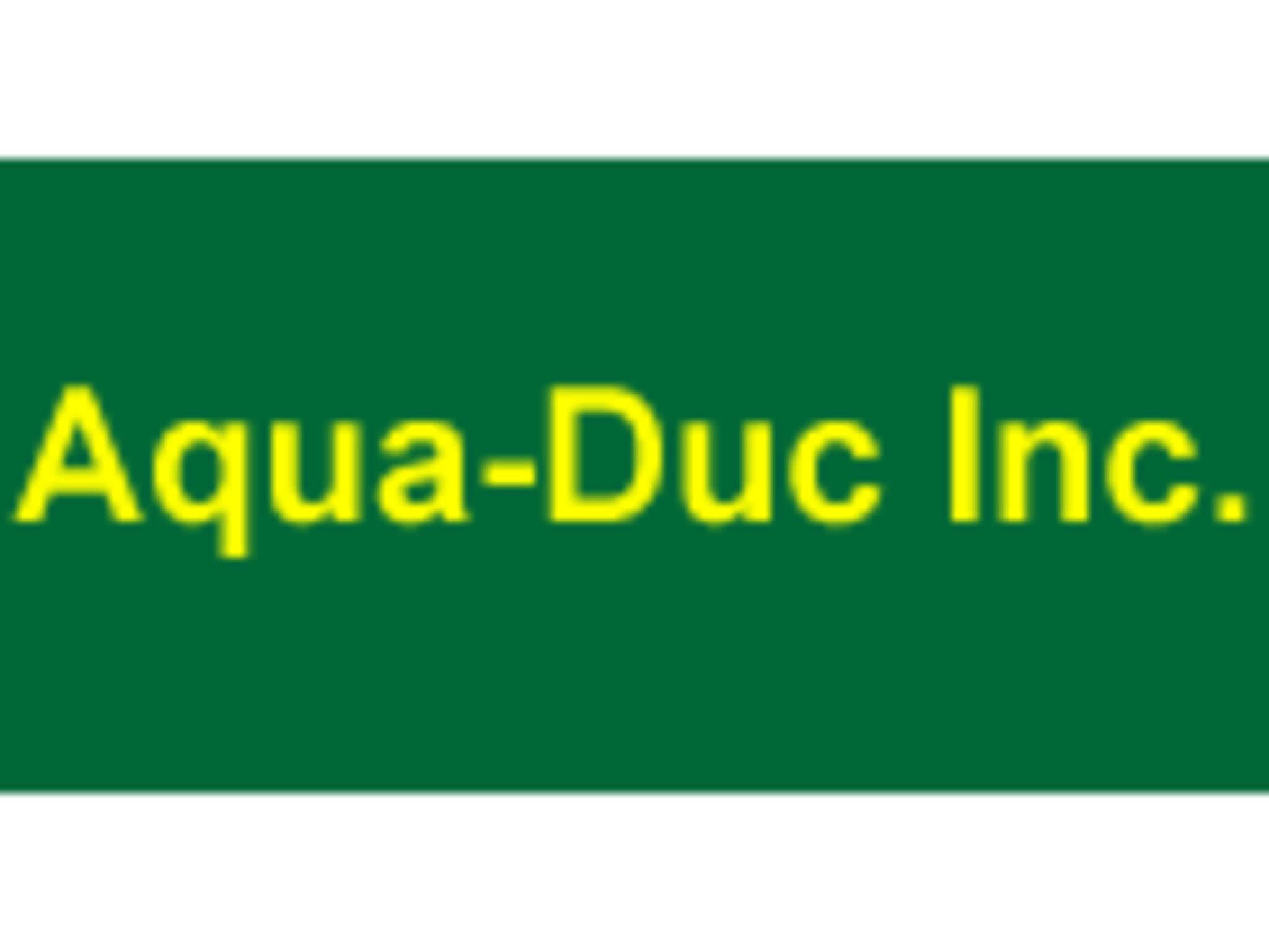 photo Aqua-Duc Inc.