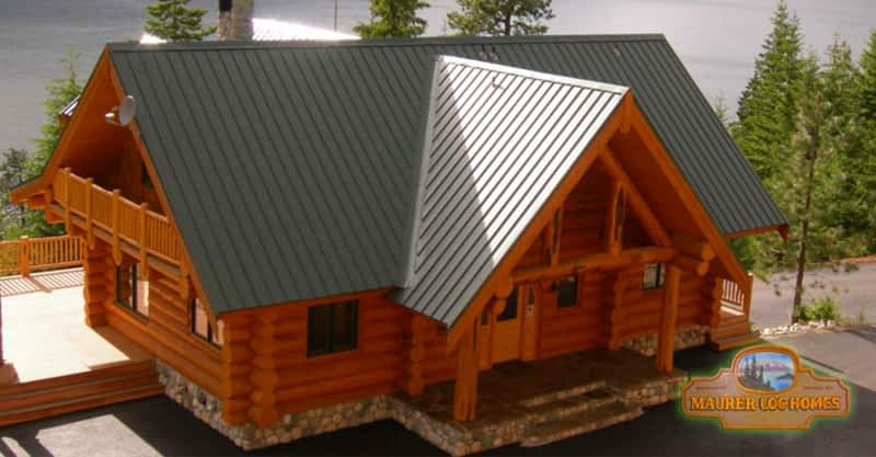 Maurer Log & Timber Frame Homes - Penticton, BC - 90 Green