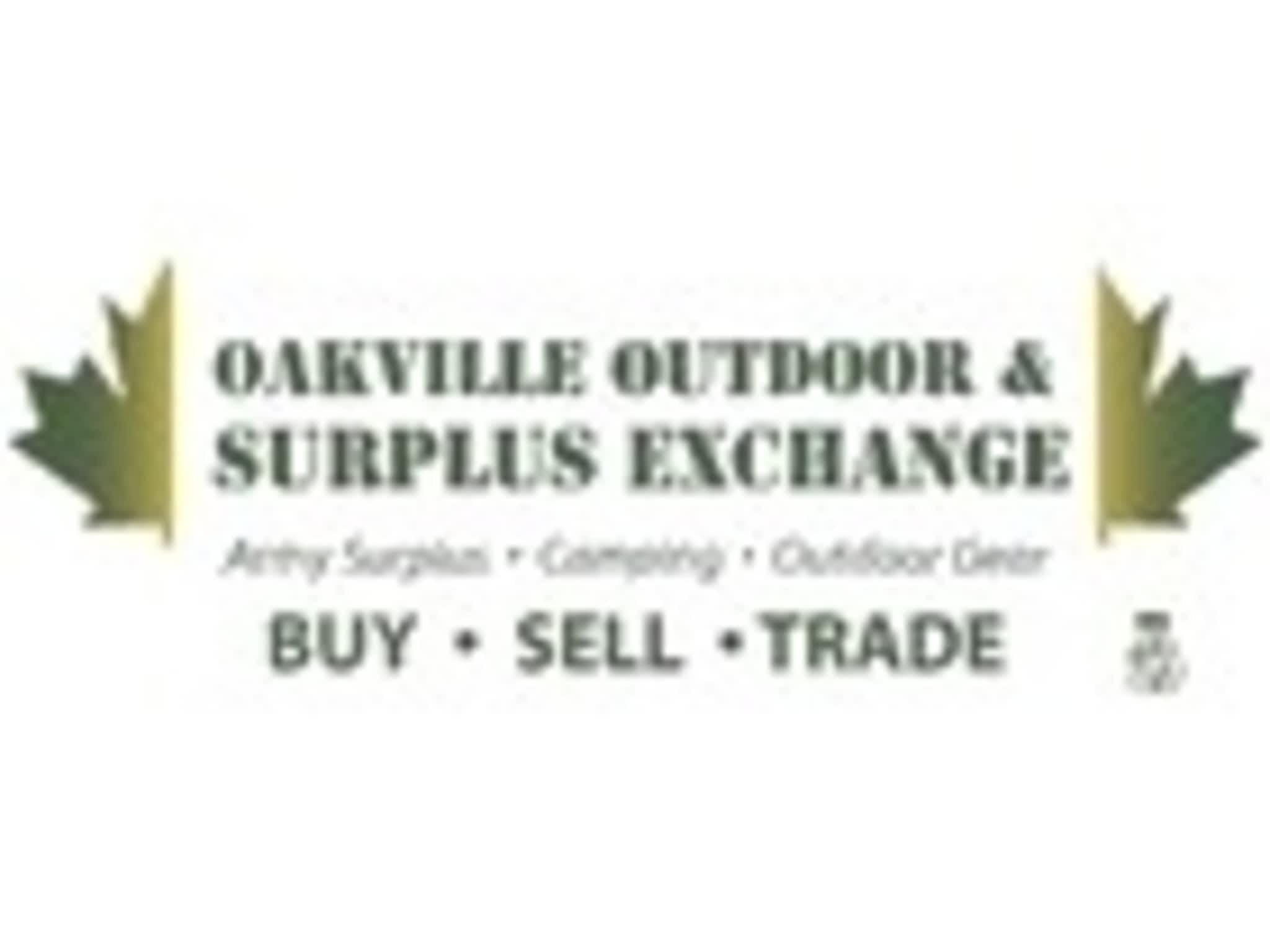 photo Oakville Outdoor & Surplus Exchange