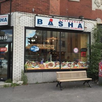 Basha - Restaurants libanais - 514-868-8008