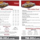 Main Street Pizza and Deli - Restaurants indiens