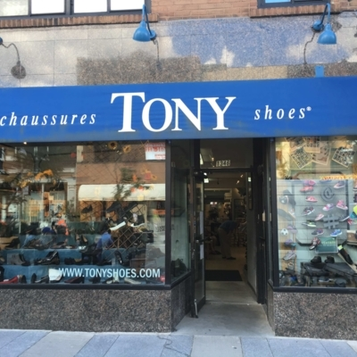Chaussures Tony ShoeS Inc - Shoe Stores