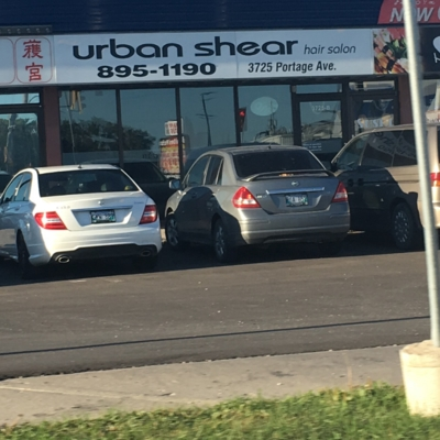 Urban Shear - Hairdressers & Beauty Salons - 204-895-1190