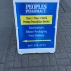 Peoples Pharmacy 392 Ltd - Pharmacies - 604-428-9755